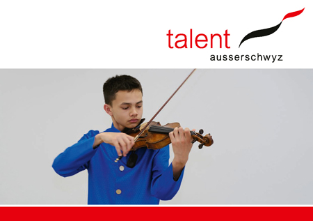 Flyer Informationsveranstaltung talent ausserschwyz 2020